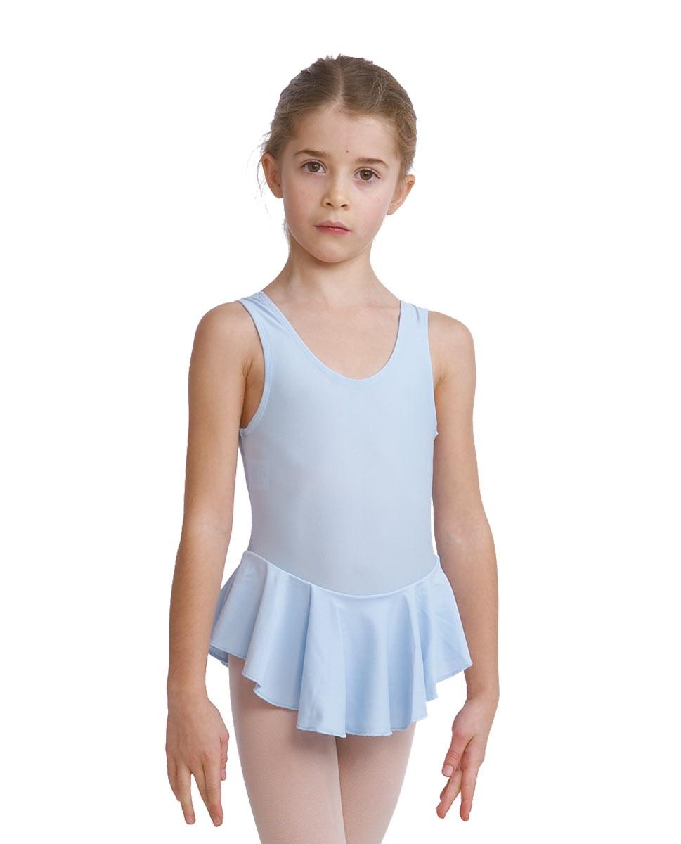בגד ריקוד עם חצאית של פלום מלייקרה