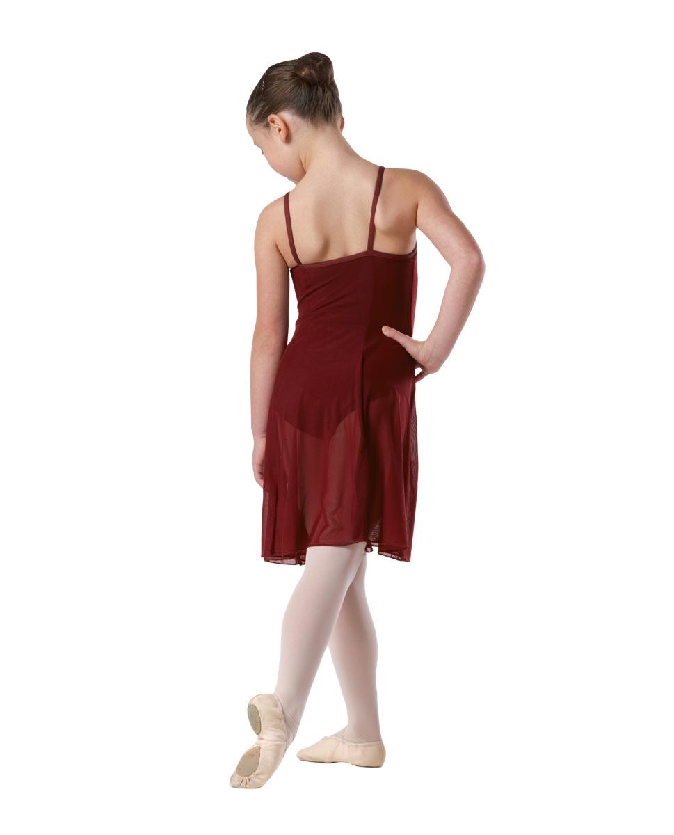 שמלה למחול לילדות של פלום ממיקרופייבר