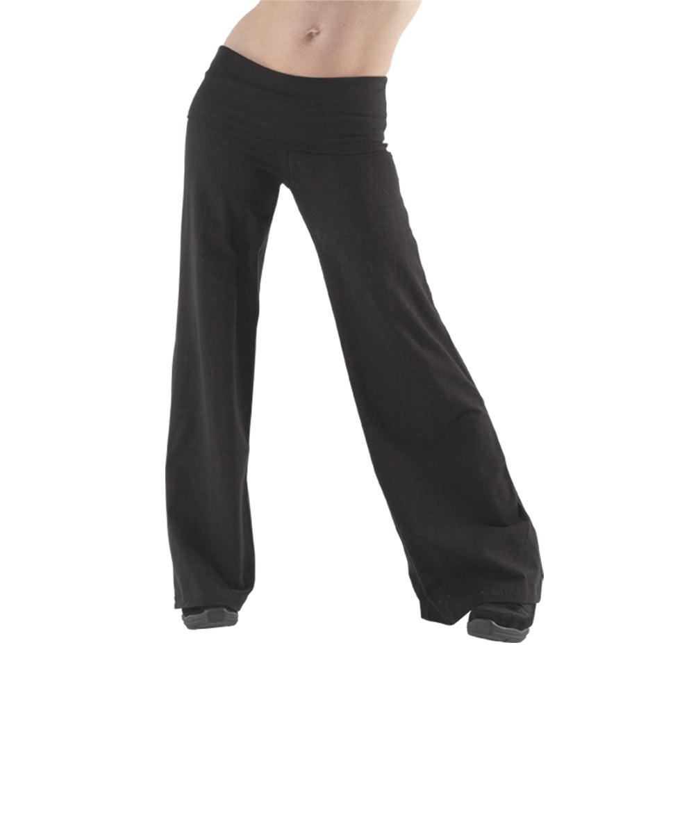 מכנסי גאז של פלום מבד כותנה לייקרה