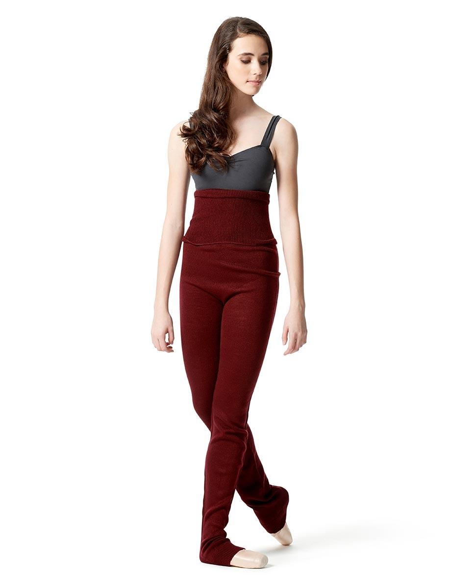 מכנסי סריג ארוכים של לולי