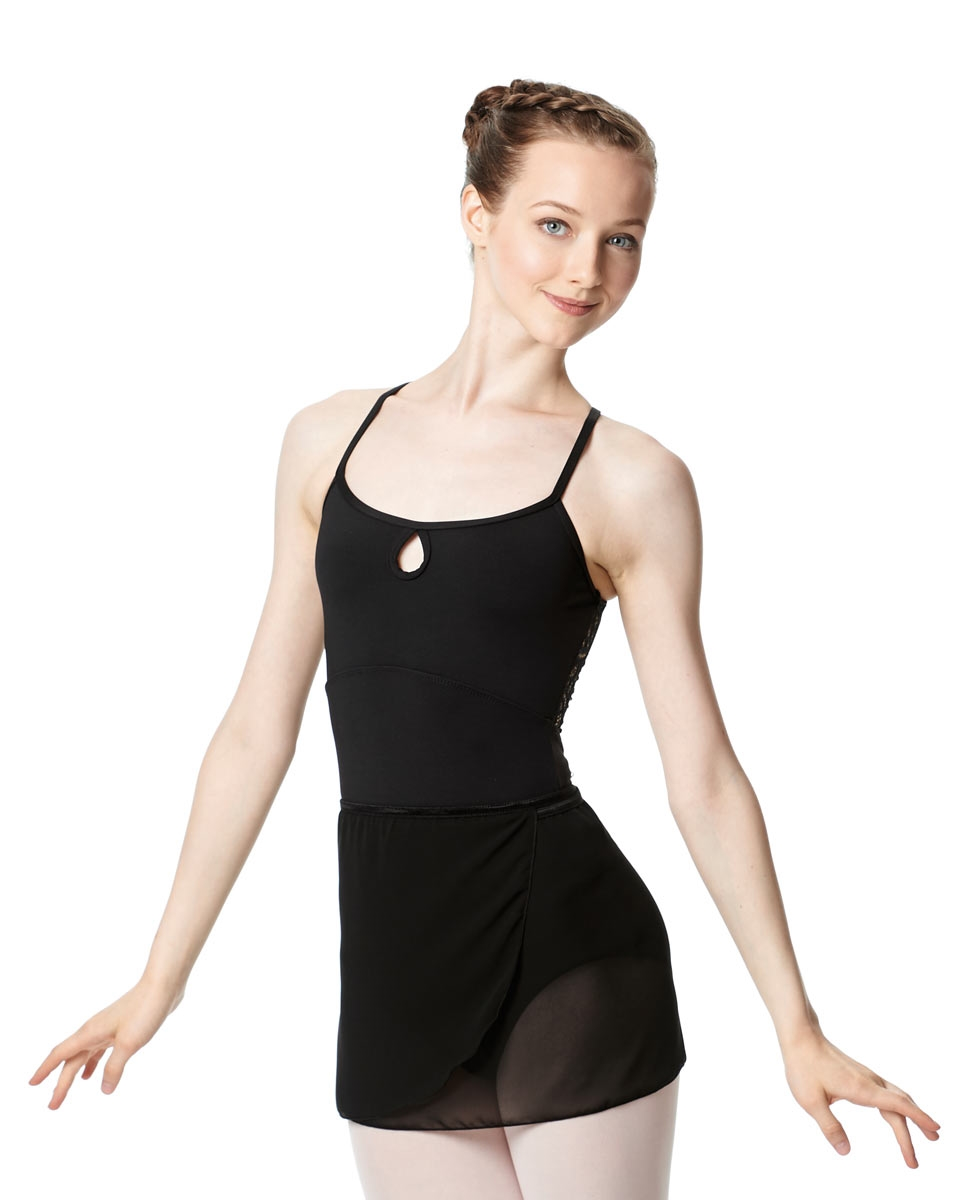 חצאית שיפון קצרה לבלט