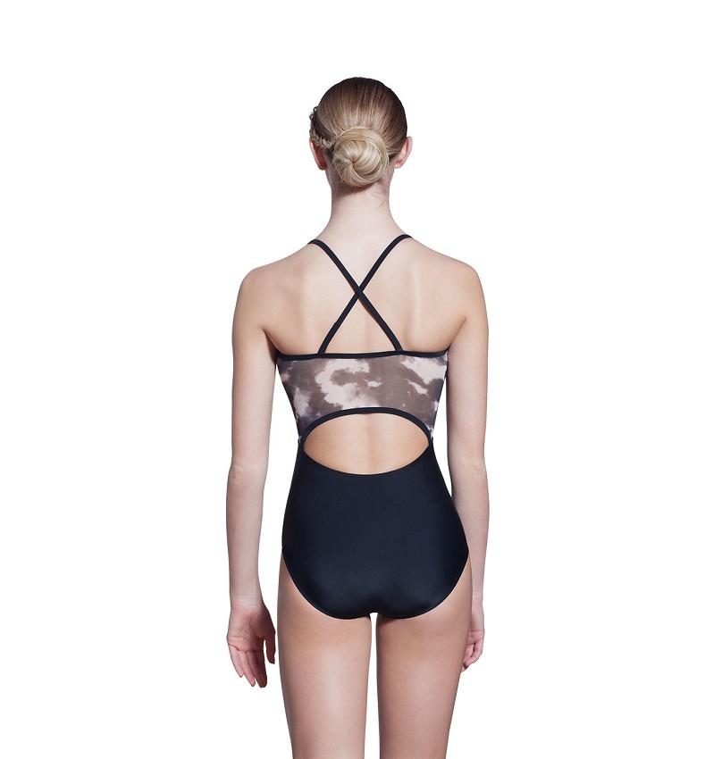 בגד גוף עם רשת מודפסת Eliza
