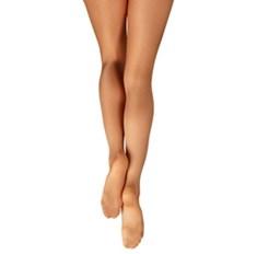 גרביון מבריק לריקוד של קפזיו עם כף רגל מלאה