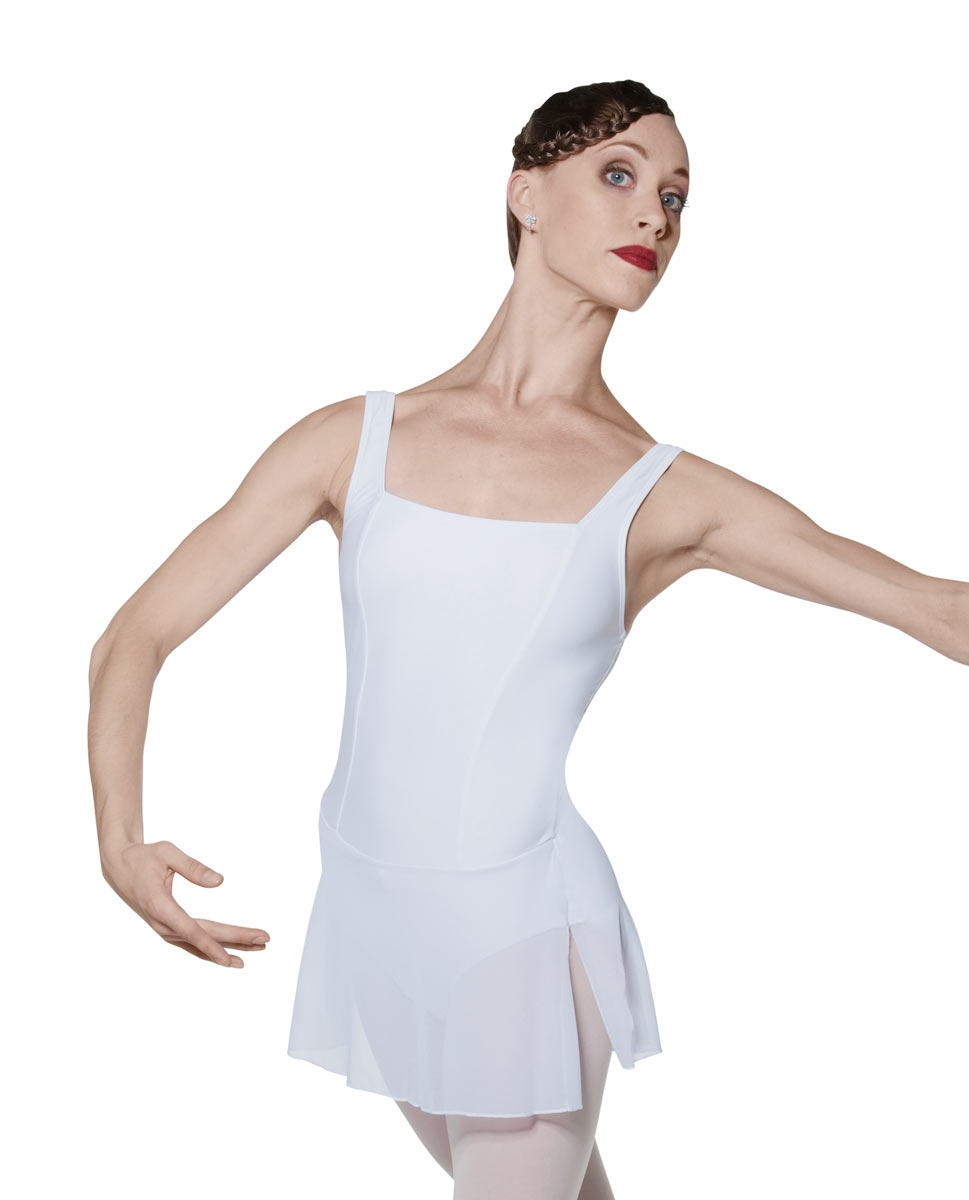 בגד גוף עם חצאית מיקרופייבר
