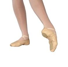 נעל בלט מעור סוליה מפוצלת IVA