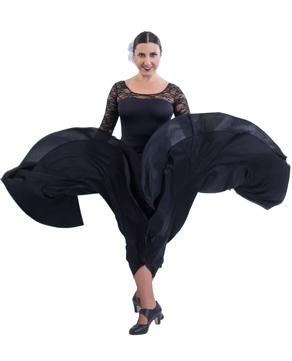 חצאית פלמנקו קלוש מלא עם וולן