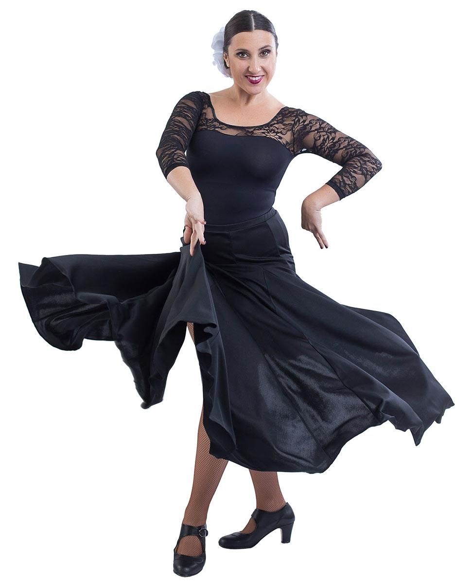 חצאית פלמנקו משלושים