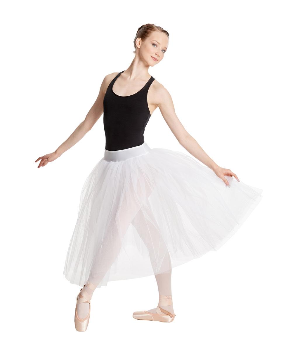 חצאית טול רומנטית Aerin של Lulli שלוש שכבות