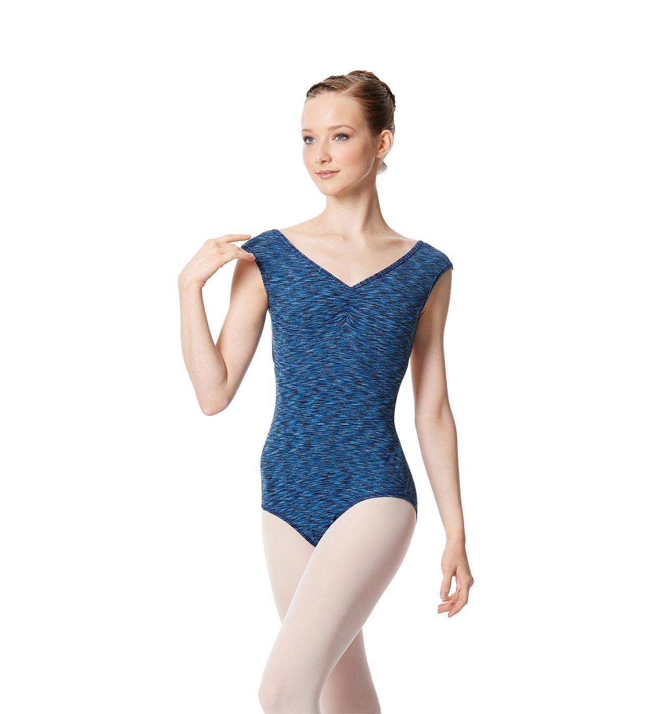 כחול מלאנז' ,XS,'כחול מלאנז,LULLI בגד גוף LUF490