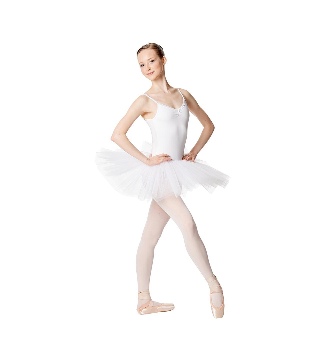 לבן שמלת טוטו Everly של Lulli מ- 4 שכבות טול LUBTU01A