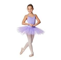 שמלת טוטו לילדות Everly של Lulli ארבע שכבות טול