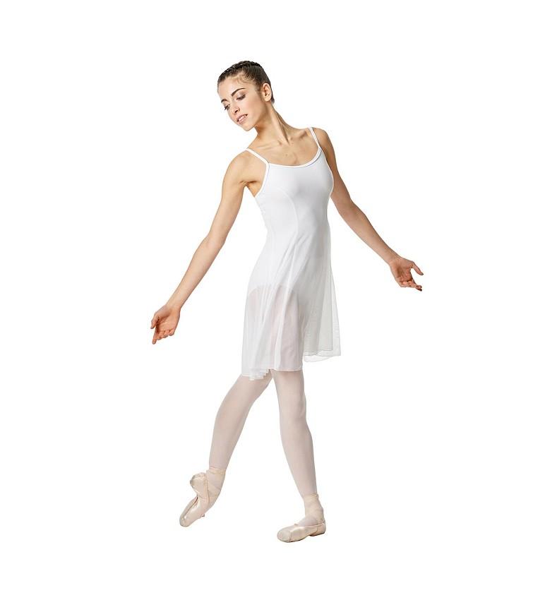 שמלת בלט מרשת אלסטית Natalie של Lulli