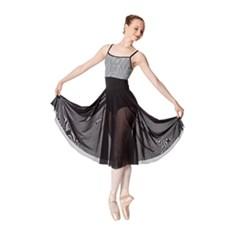 חצאית פעמון  מבד רשת אלסטי Emilia של Lulli