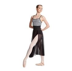 חצאית עם שליץ מרשת אלסטית Clarise של Lulli