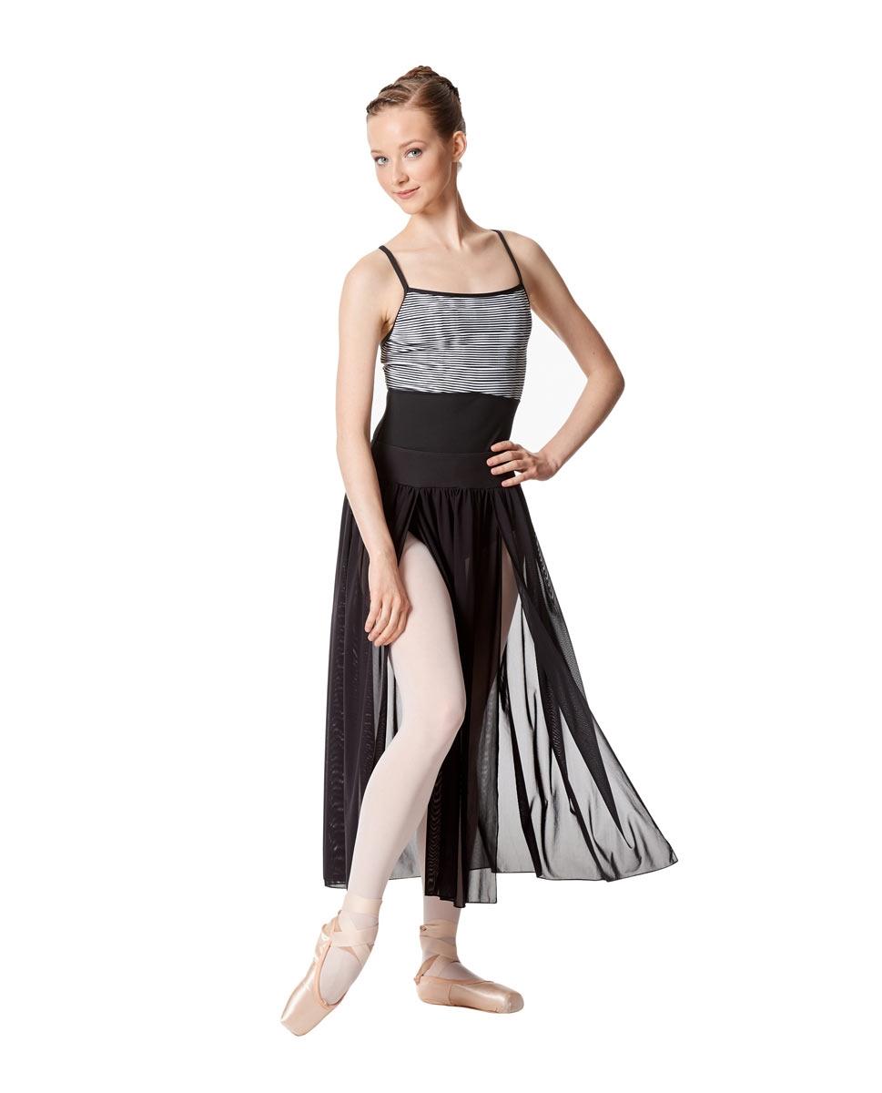 חצאית רשת Keira של Lulli מבד רשת