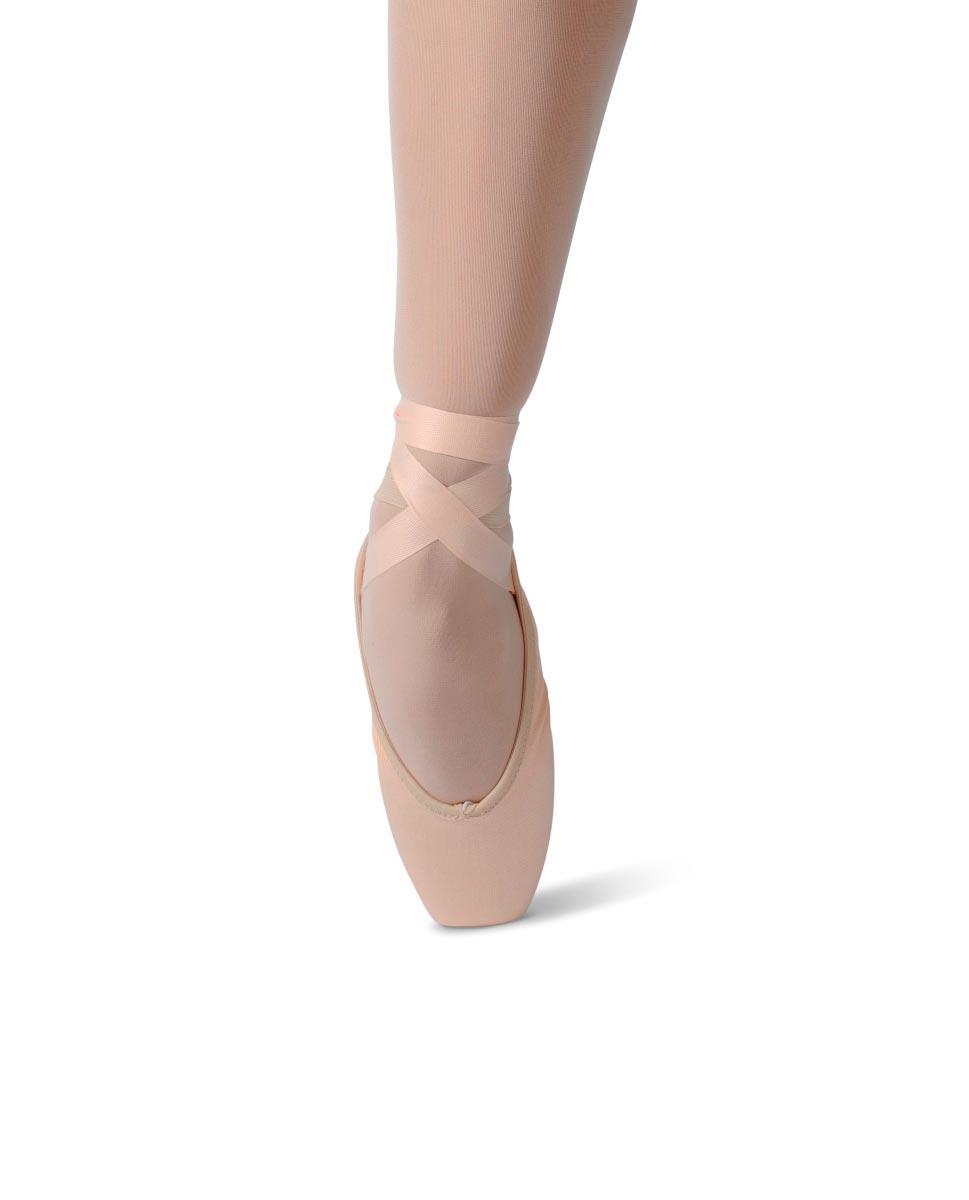 נעלי פוינט למתחילות מבד קנווס אלסטי ELISTA