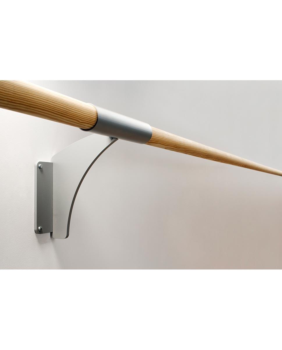 מחבר לקיבוע בר בלט מעץ לקיר