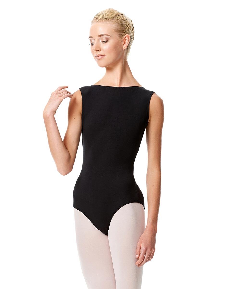 Olimpia בגד גוף עם צוארון גבוה מכותנה