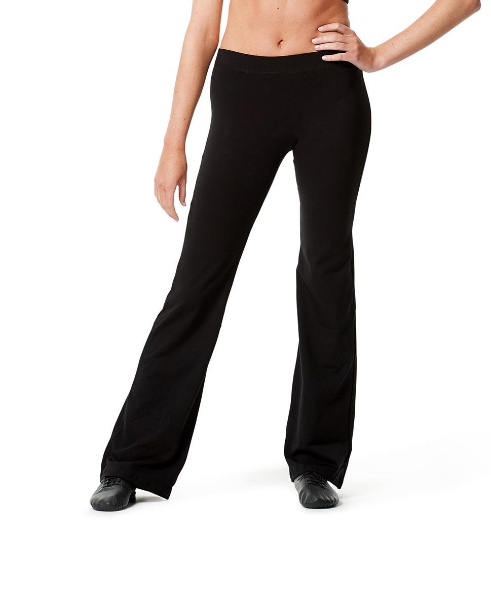 מכנסי ג'אז Assol בגזרה ישרה מבד כותנה לייקרה