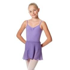 חצאית בלט שיפון מעטפת לילדות