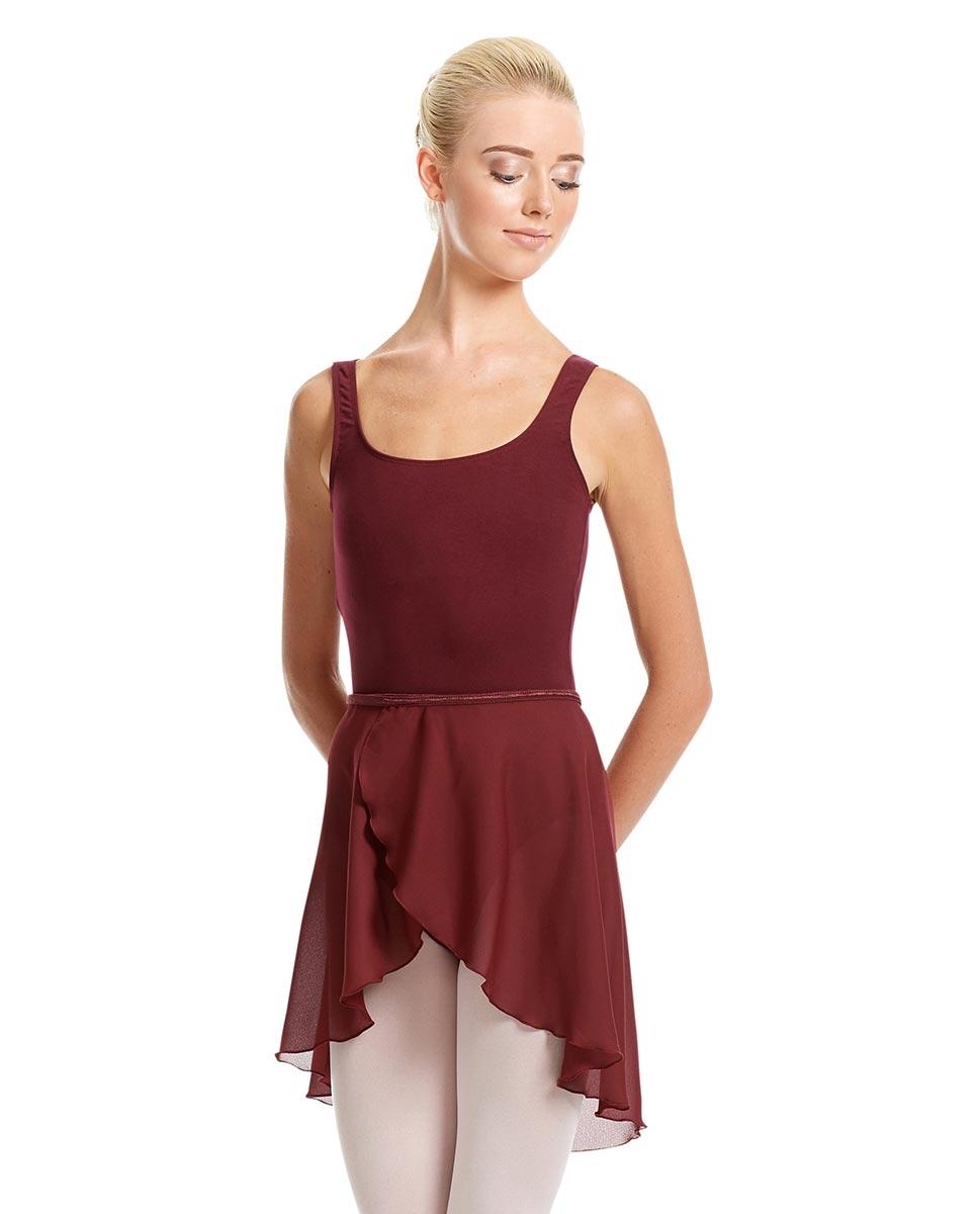 חצאית בלט שיפון מעטפת לנשים
