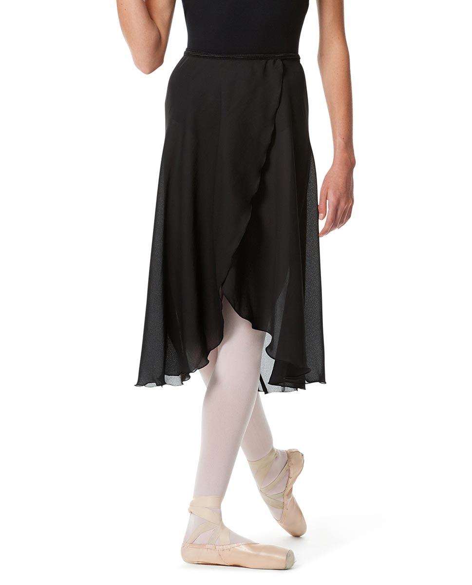 חצאית מעטפת שיפון לנשים