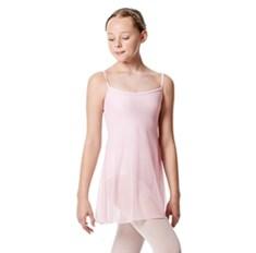 בגד גוף מחובר לשמלת רשת לילדות