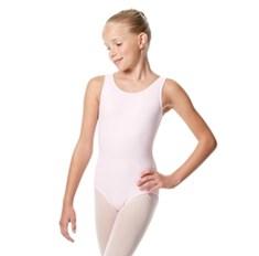 בגד גוף גופיה לילדות מבד לייקרה מט