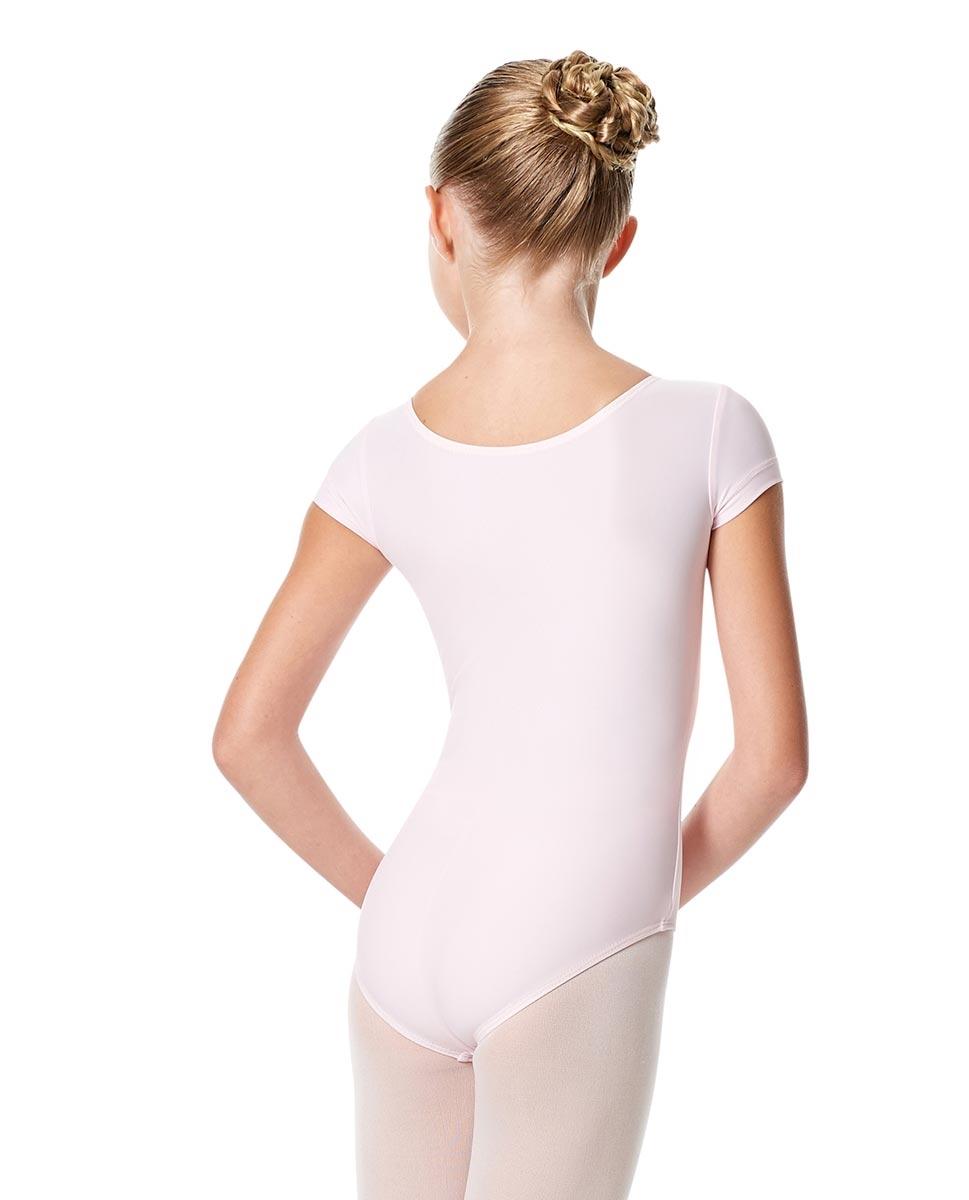 בגד גוף שרוול קצר לילדות מבד לייקרה מט