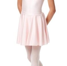 חצאית לילדות מבד לייקרה מבריק