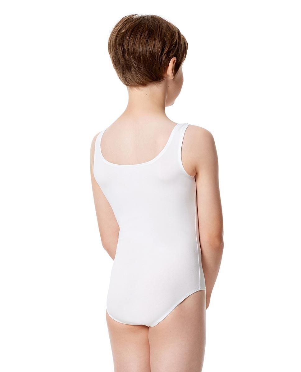 בגד גוף גופיה לבנים מכותנה לייקרה