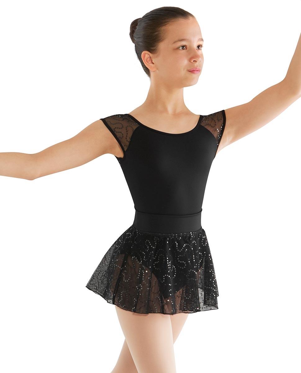 בגד גוף שרוול קצר ממיקרופייבר (חצאית להמחשה בלבד)