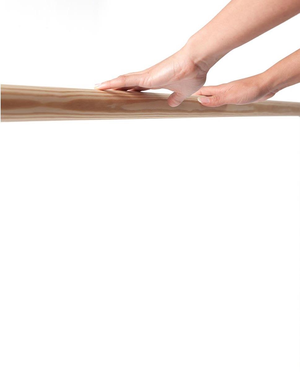 בר בלט מעץ מוט 1.5 מטר