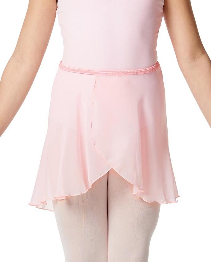 חצאית שיפון לבלט עם קשירה