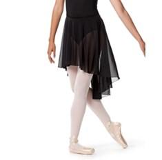 חצאית בלט אסימטרית מבד רשת Lucrezia