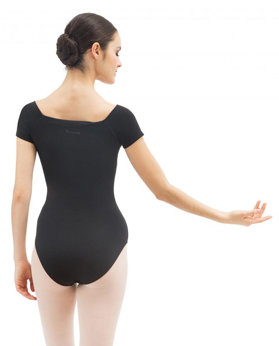 בגד גוף שרוול קצר לנשים של המותג הצרפתי REPETTO