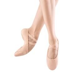 נעלי בלט מבד סוליה מפוצלת וגומי תפור