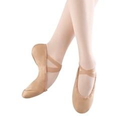נעלי בלט מבד סוליה מפוצלת וגומי תפור בצד אחד