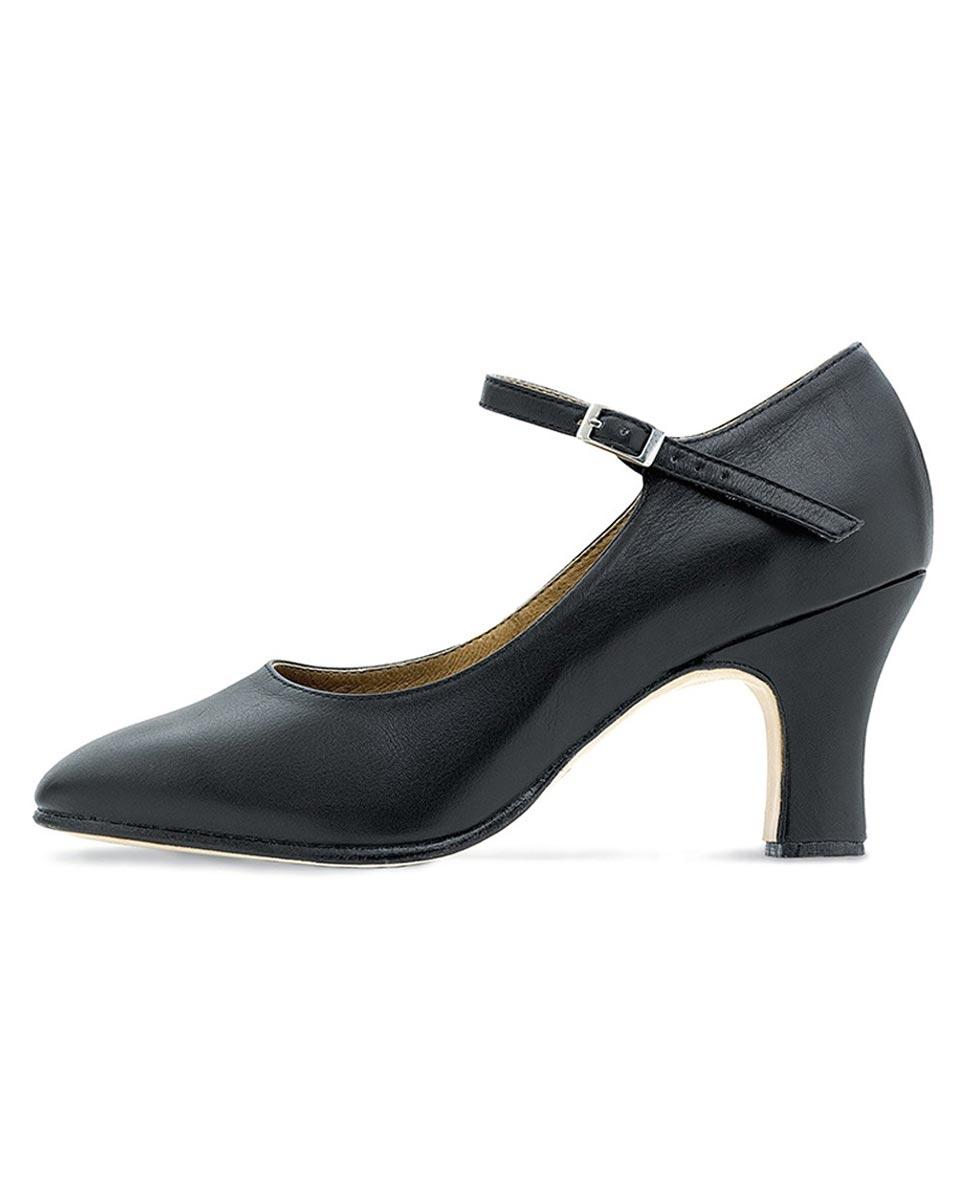נעלי אופי עור עקב 7.5 ס