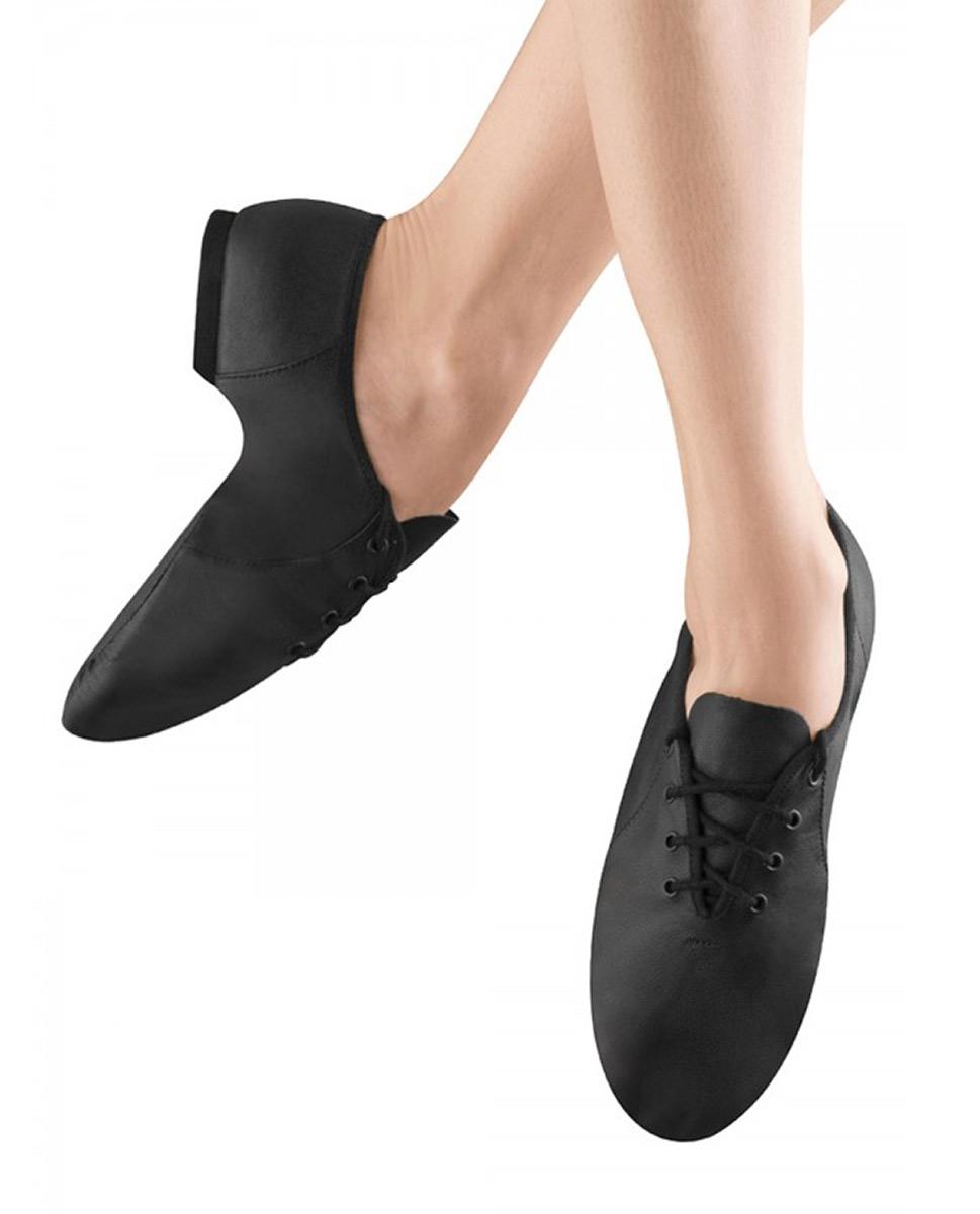 נעלי ג'אז מפוצלות במידות של ילדות