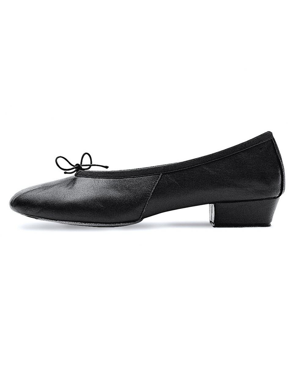 נעלי מורה מעור סוליה מפוצלת