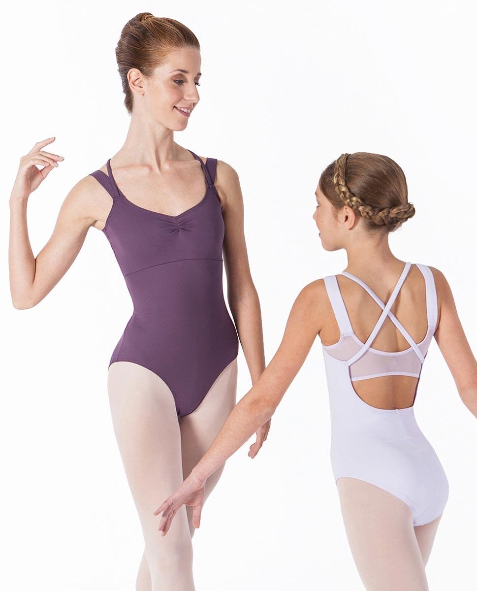 בגד גוף גופיה לנשים עם X בגב