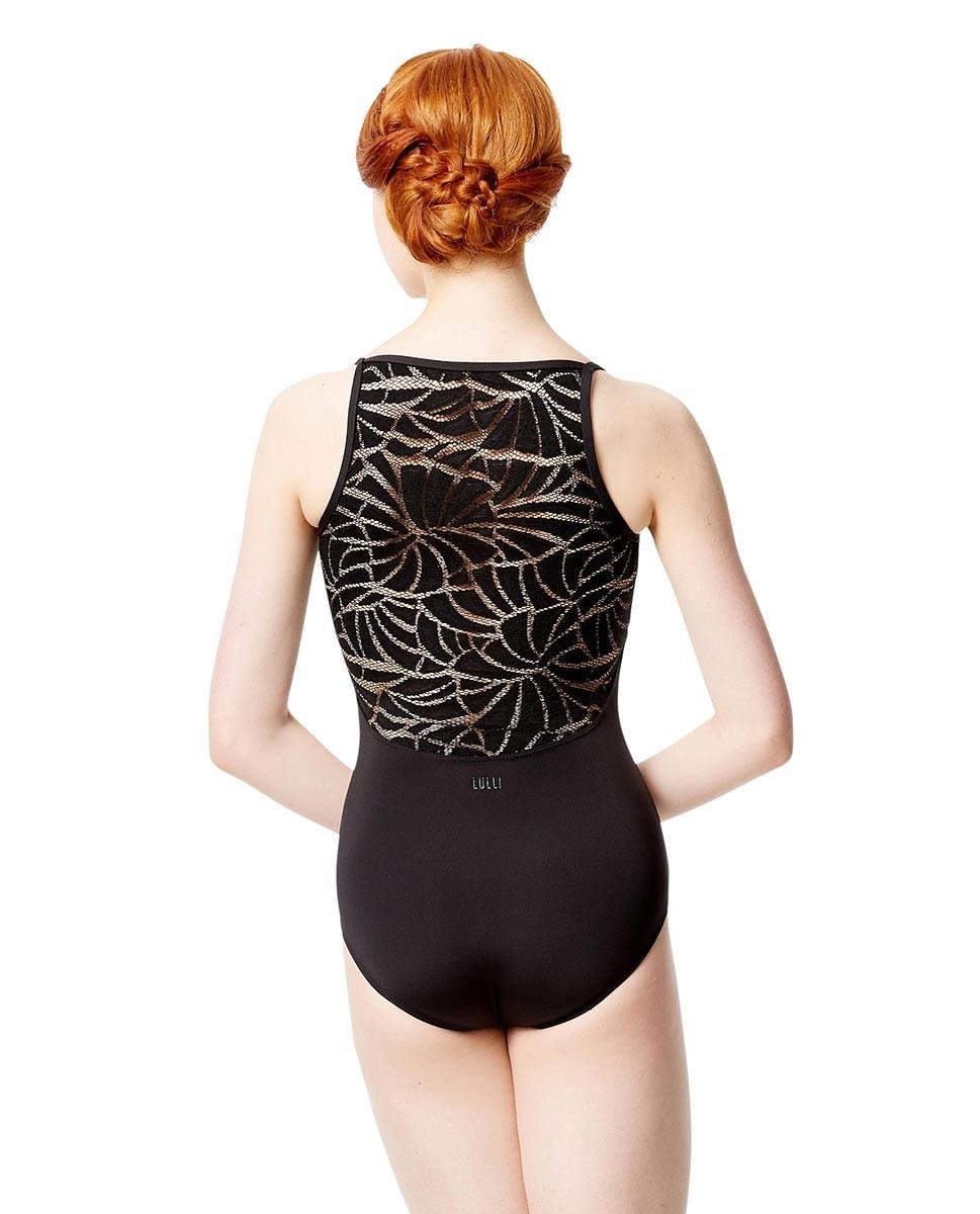 בגד גוף Amanda עם כתפיות ורשת בגב