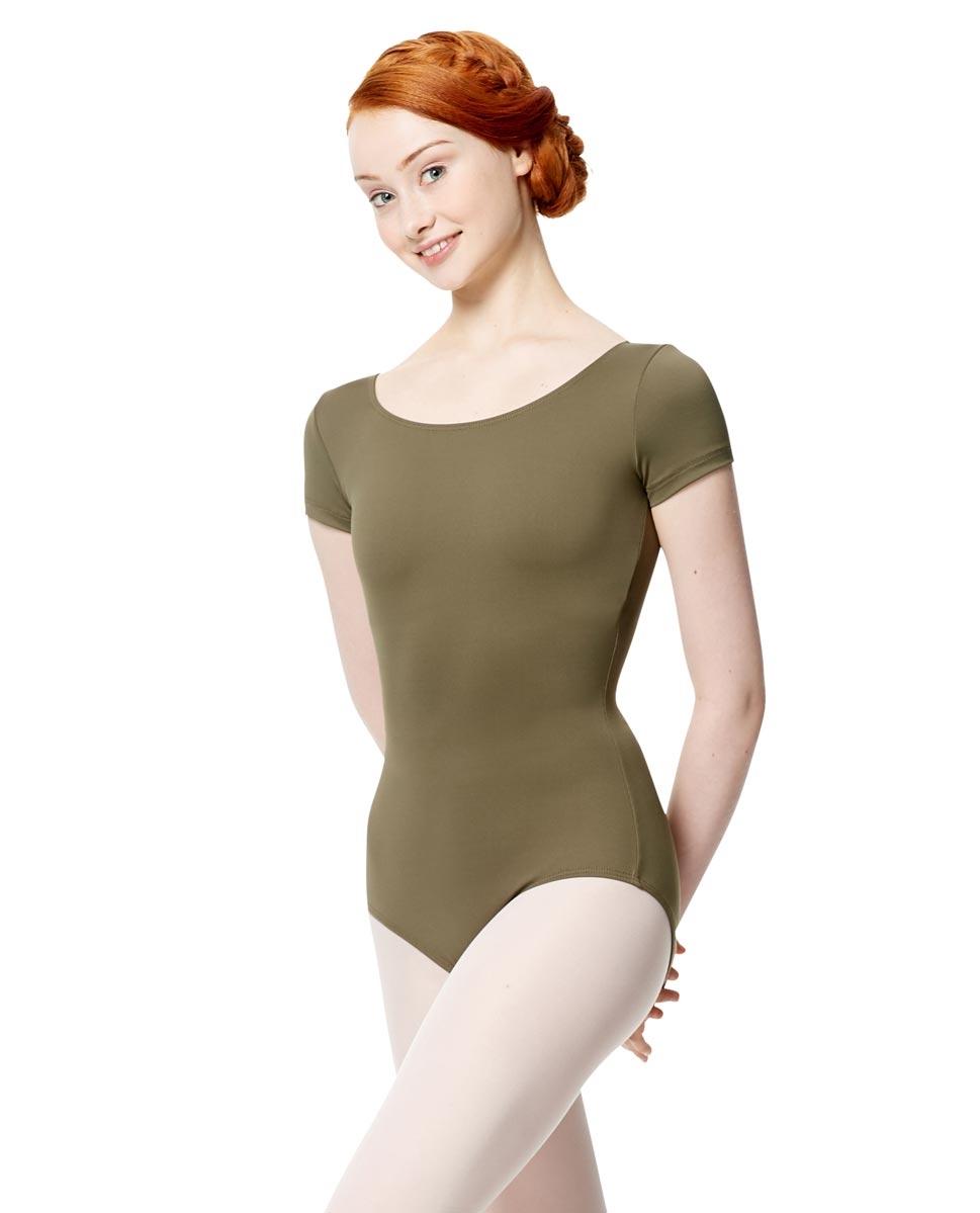 בגד גוף Abigail  שרוול קצר של Lulli מבד מיקרופייבר