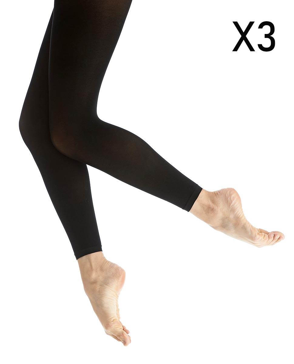 שלישית גרביונים לנשים 50 דניר ללא כף רגל