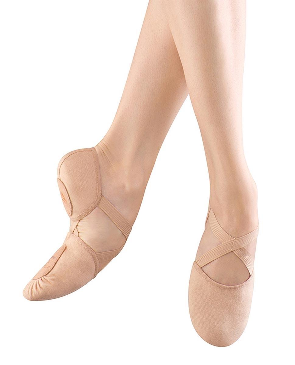 נעלי בלט מפוצלות מבד