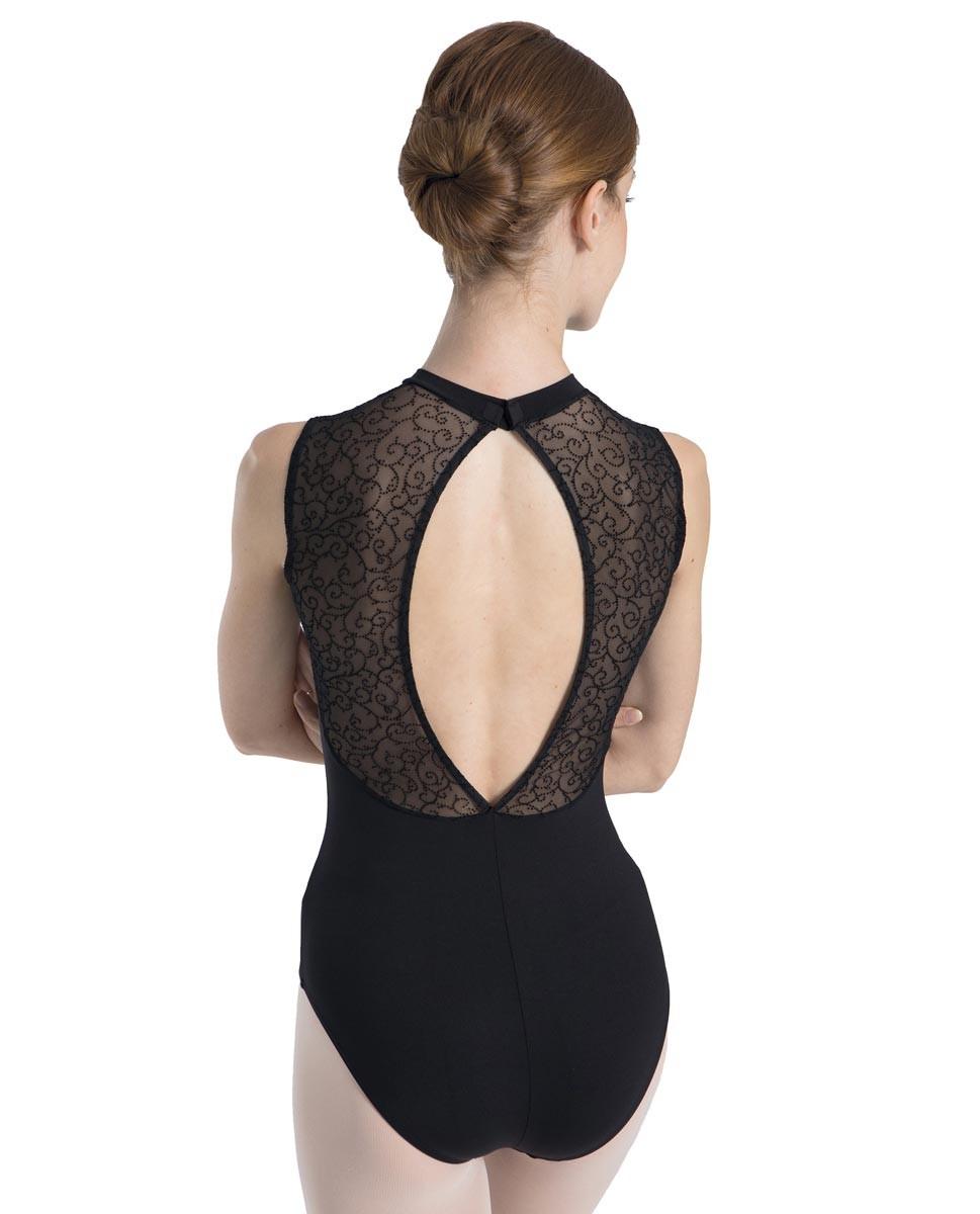 בגד גוף בגזרת צווארון גבוה לנשים של Inrermezzo