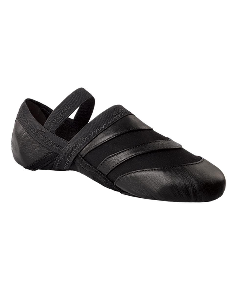 נעלי בלט מעור סוליה מפוצלת