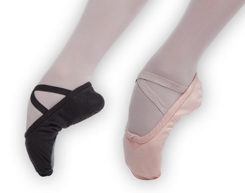 נעלי בלט מפוצלות