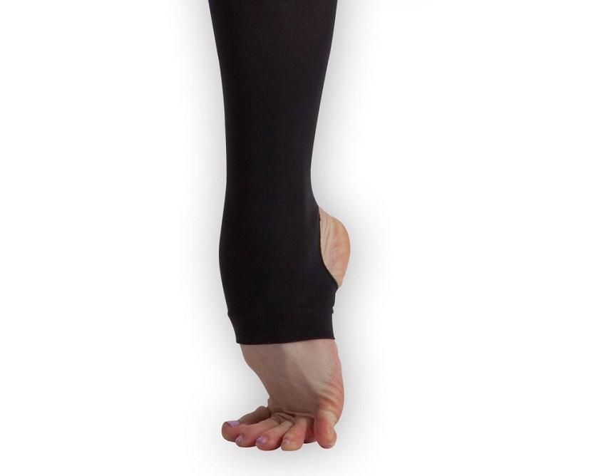 גרביון בלט עם רגלית